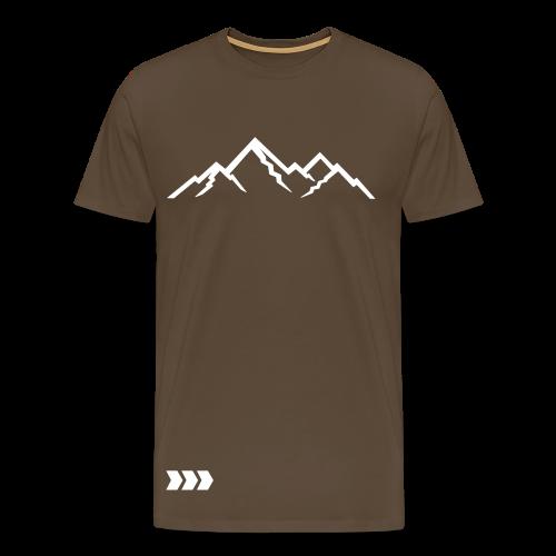 CoolArrow Mountains T-Shirt - Männer Premium T-Shirt