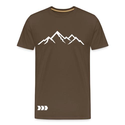 CoolArrow Mountains T-Shirt - Männer Premium T-Shirt