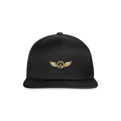 Gold Peace Snapback - Snapback Cap