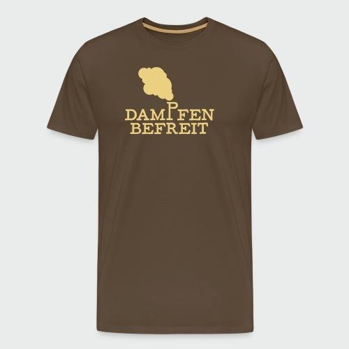 Dampfen befreit - Männer Premium T-Shirt