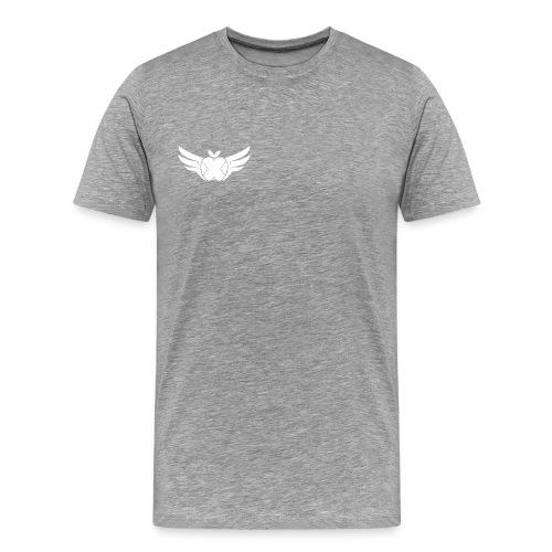 Hackintosh-Forum T-Shirt grau - logo klein, rechts - Männer Premium T-Shirt