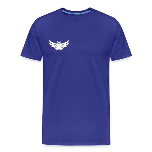 Hackintosh-Forum T-Shirt blau - logo klein, rechts - Männer Premium T-Shirt