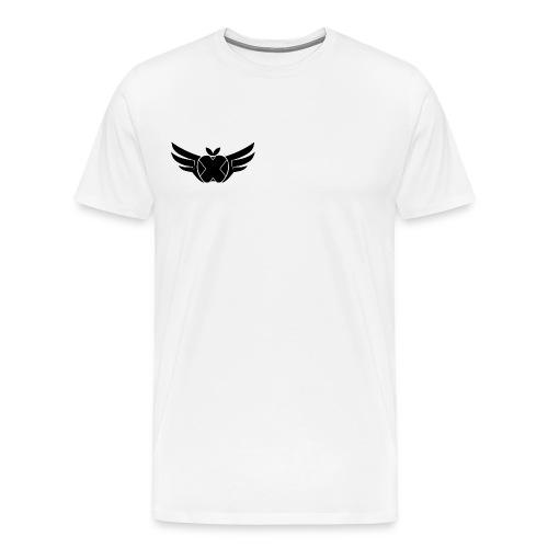 Hackintosh-Forum T-Shirt weiß - logo klein, rechts - Männer Premium T-Shirt