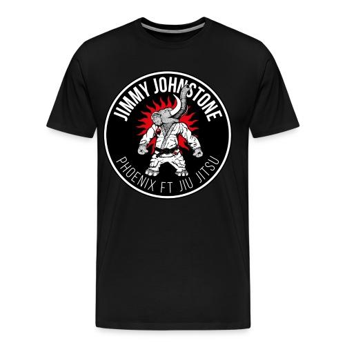 JJ Phoenix FT JiuJitsu - MENS - Men's Premium T-Shirt
