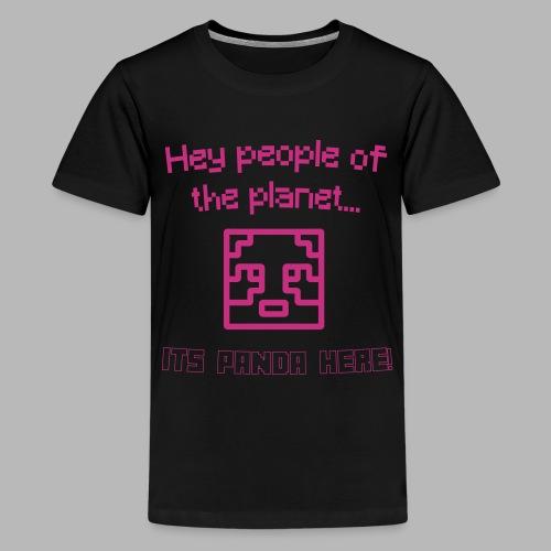 Neon Teenage T-Shirt - Teenage Premium T-Shirt