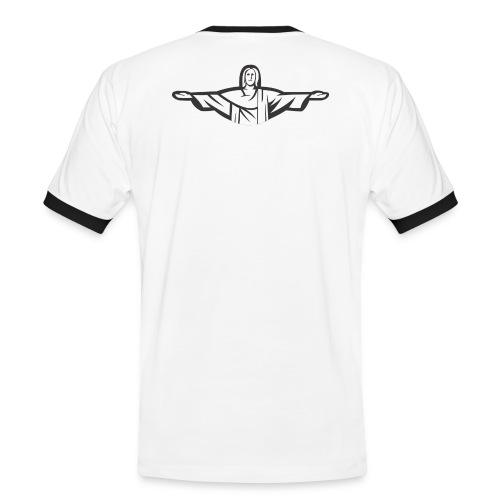 Brazil Themed T-Shirt - Men's Ringer Shirt