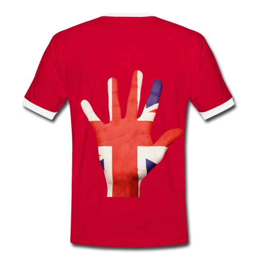 UK Themed T-Shirt - Men's Ringer Shirt