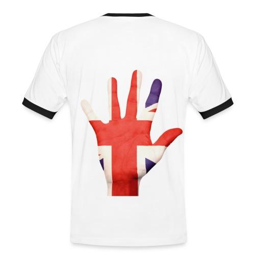 UK Themed T-Shirt - Men's Ringer Shirt