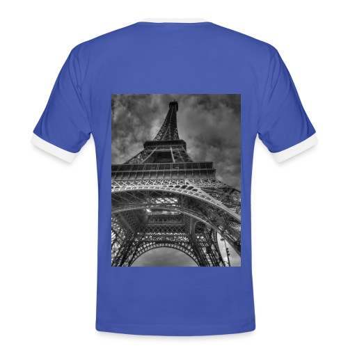 France Themed T-Shirt  - Men's Ringer Shirt