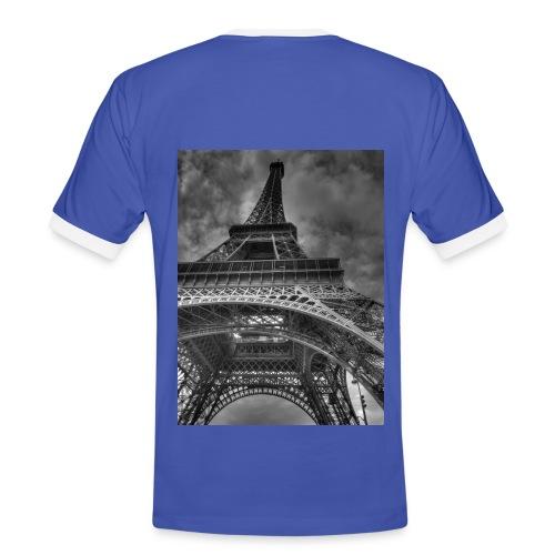 France Themed T-Shirt  - Men's Ringer Shirt
