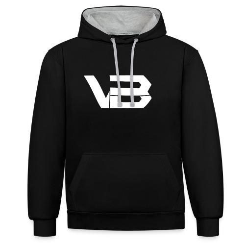 ViiBz Hoodie   Name on back - Contrast Colour Hoodie