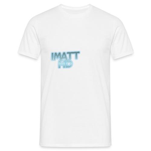 IMatt HD T-Shirt White - Men's T-Shirt