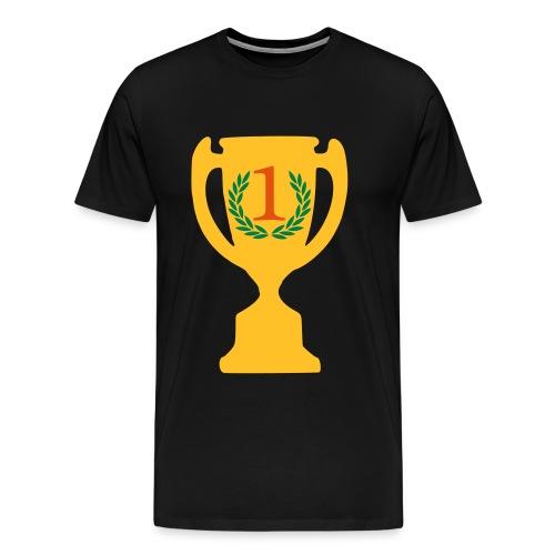 Number one trophy - Men's Premium T-Shirt