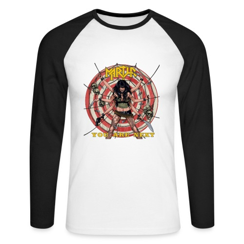 MARTYR YOU ARE NEXT shirt - Mannen baseballshirt lange mouw
