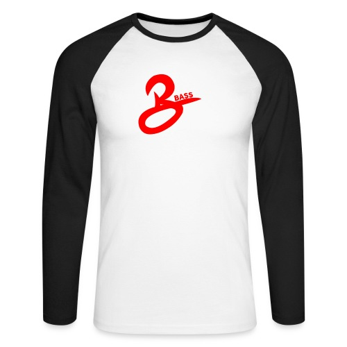 Bass long-tee - Men's Long Sleeve Baseball T-Shirt