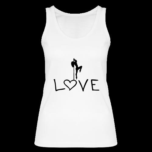Poledance Love - Frauen Bio Tank Top von Stanley & Stella