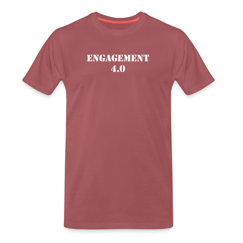 Bit larger text - Men's Premium T-Shirt