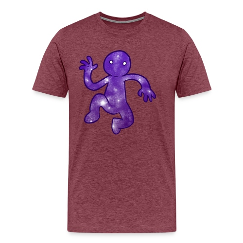 Space Man Tee - Men's Premium T-Shirt