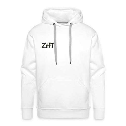 Zombiehit Hoodir White - Men's Premium Hoodie