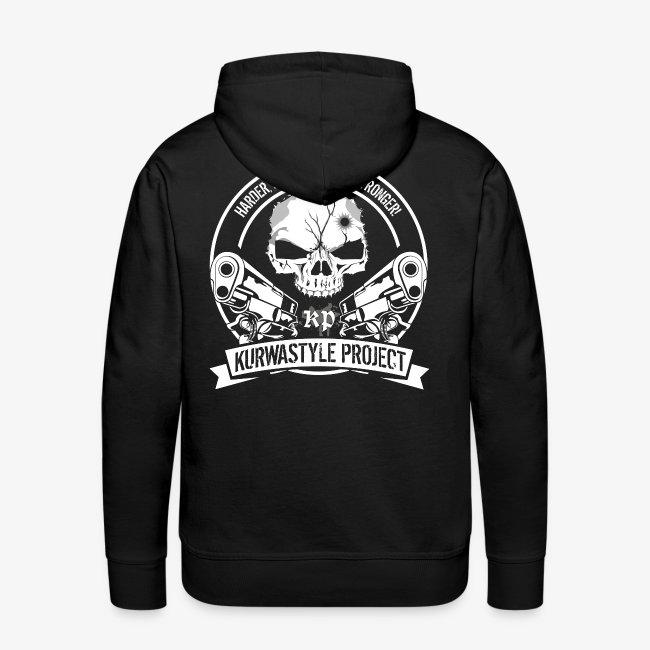 Kurwastyle Project Hoodie - Skull