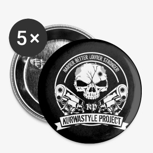 Kurwastyle Project Buttons - Buttons small 25 mm