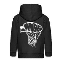 Kids' Premium Zip Hoodie with design Basketball Net
