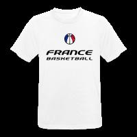 T-shirt respirant Homme avec motif france basketball