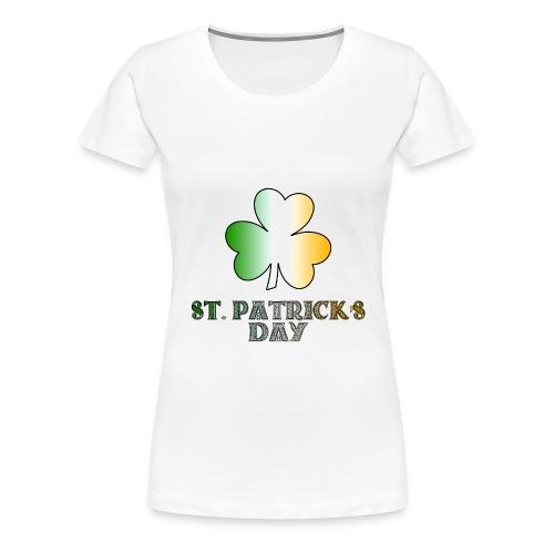 Women's St. Patricks Day T-Shirt - Women's Premium T-Shirt
