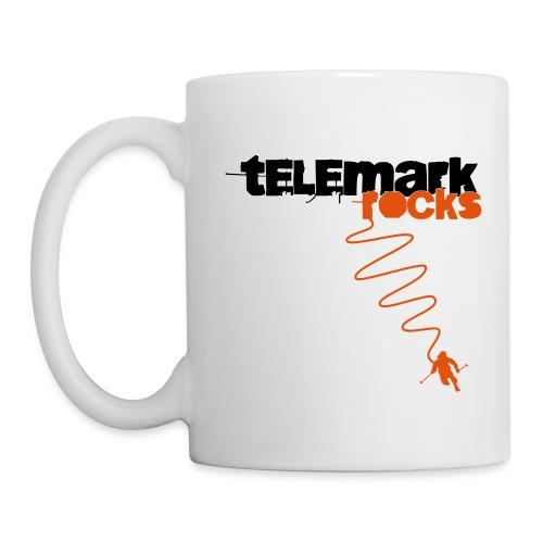 Kaffee-Tasse Telemark rocks weiß - Tasse