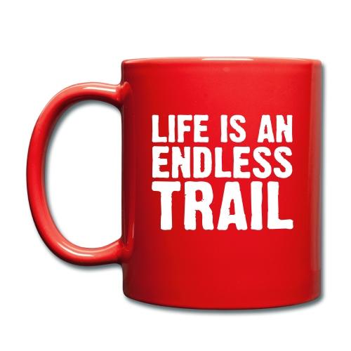 Tasse einfarbig - Aufstehen, Toilette, Kaffeemaschine, Kaffee - so oder in abgewandelter Reihenfolge verläuft bei gut über 95% der Start in den Tag... Warum also irgendeiner Tasse das beliebte Heißgetränk anvertrauen. Hier ist der Mug, auf deutsch: die Tasse, die Dir beste Unterstützung beim Start in den Tag bietet.