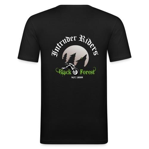 Herren SlimFit T-Shirt - Männer Slim Fit T-Shirt