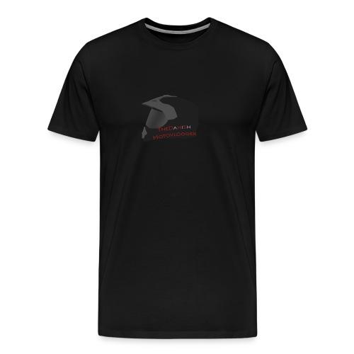 Danish Motovlogger Helmet Shirt - Men's Premium T-Shirt