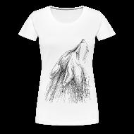 T-Shirts ~ Frauen Premium T-Shirt ~ Heulender Wolf, Shirt