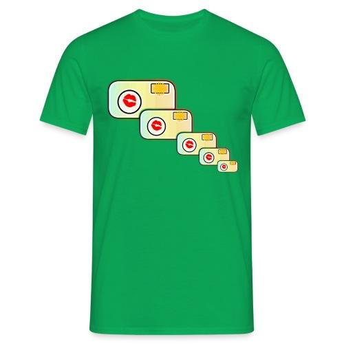 Multi-Camera Artsy - Men's T-Shirt