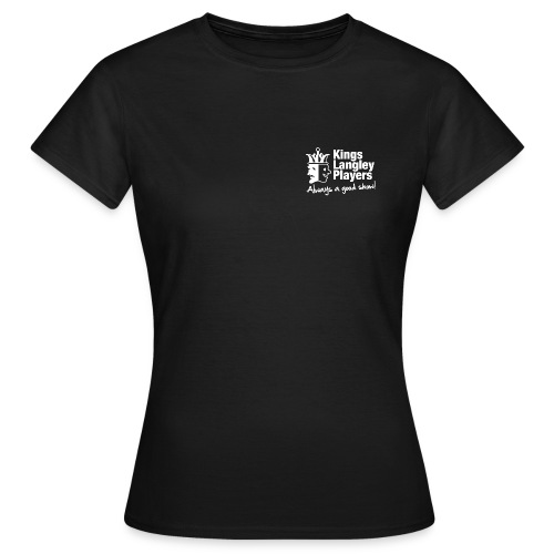 Ladies t-shirt with white logo - Women's T-Shirt