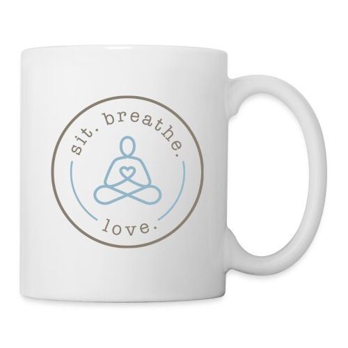 Mug - T-shirts,Sit Breathe Love,Shop