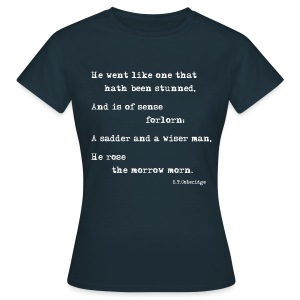 The Ancient Mariner: Forlorn Woman premium T-shirt - Women's T-Shirt
