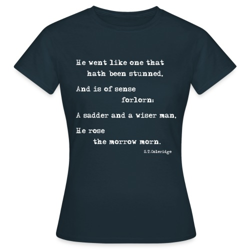 The Ancient Mariner: Forlorn Woman premium T-shirt - Women's T-Shirt