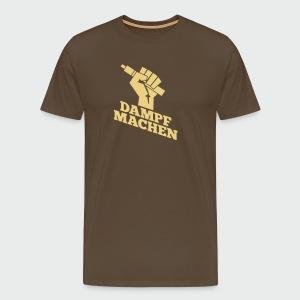 Dampf machen - Männer Premium T-Shirt