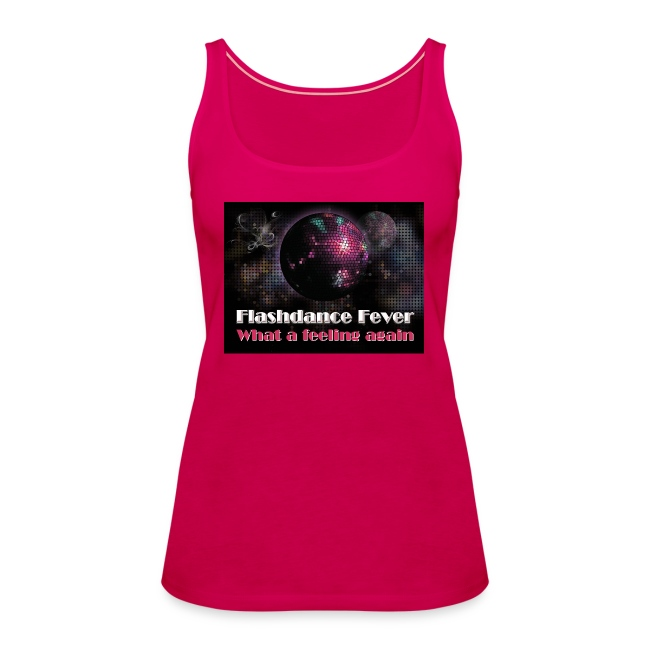 Flashdance Fever Tank Top Girl