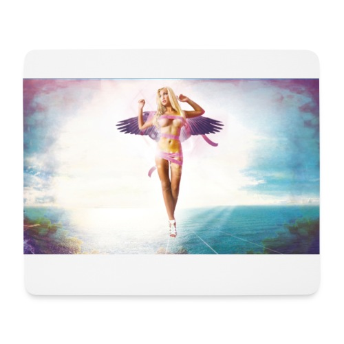 bexy sexy fly pad - Mousepad (Querformat)