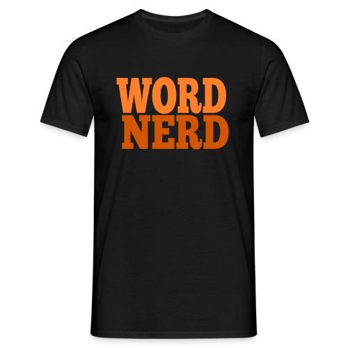 Word Nerd Male Tee - Men's T-Shirt