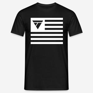 Tomy Hawk TV Flagge - Männer T-Shirt