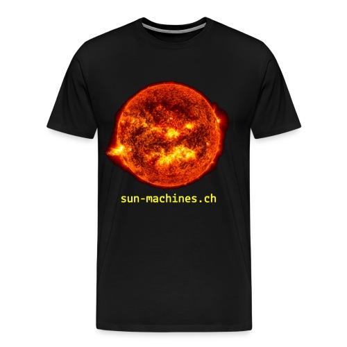 Burning Sun Herren T-Shirt - Männer Premium T-Shirt