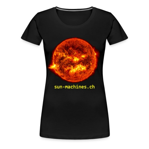 Burning Sun Frauen T-Shirt - Frauen Premium T-Shirt