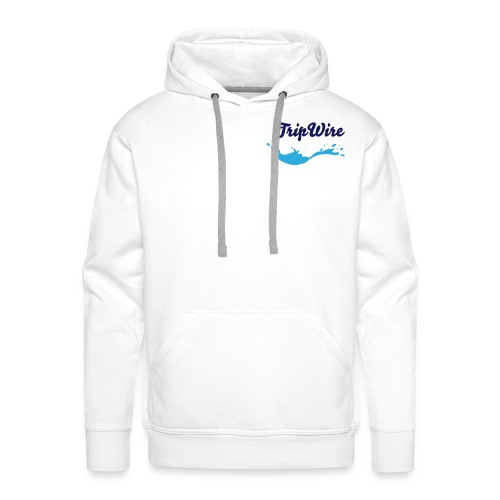 TripWire's White Wave Jumper for Men - Men's Premium Hoodie