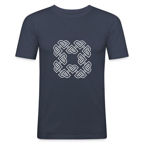 Hjartleik - white - Slim Fit T-skjorte for menn
