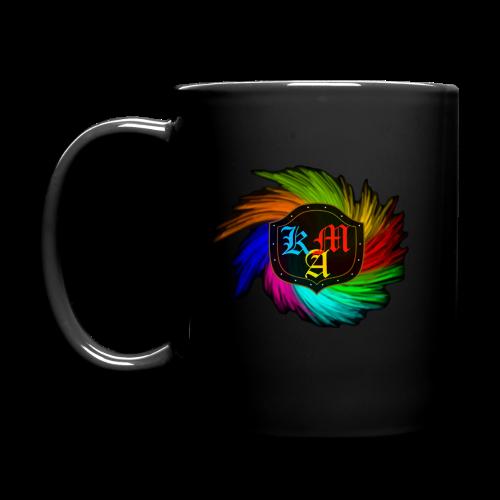 KAM - Pixels Tasse - Tasse einfarbig