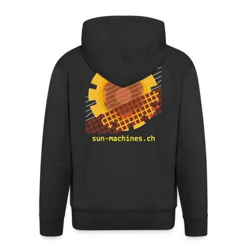 Sun Machines Hoodie - Männer Premium Kapuzenjacke