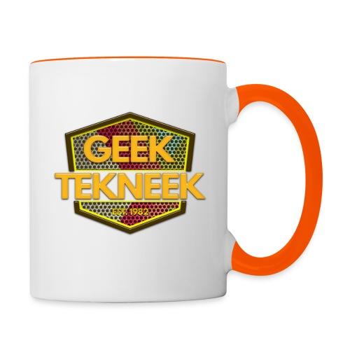 GeekTekneek Mug - Contrasting Mug